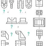 Как построить третью проекцию по двум заданным